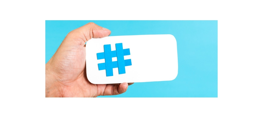 Create effective hashtags for marketing actions